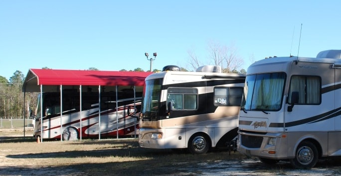 Outdoor Storage World Covered Rv And Boat Storage